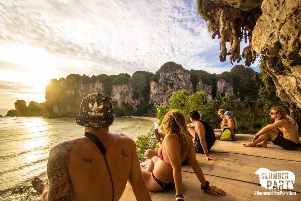 Slumber Party Hostel Thailand Tonsai Railay Beach