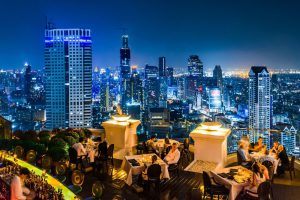 Bangkok nightlife has a wide range of rooftop bars to choose from.
