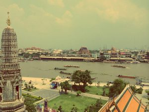 The Chatuchak Weekend Market is nearby some of Bangkok's coolest temples, Wat Arun for example.