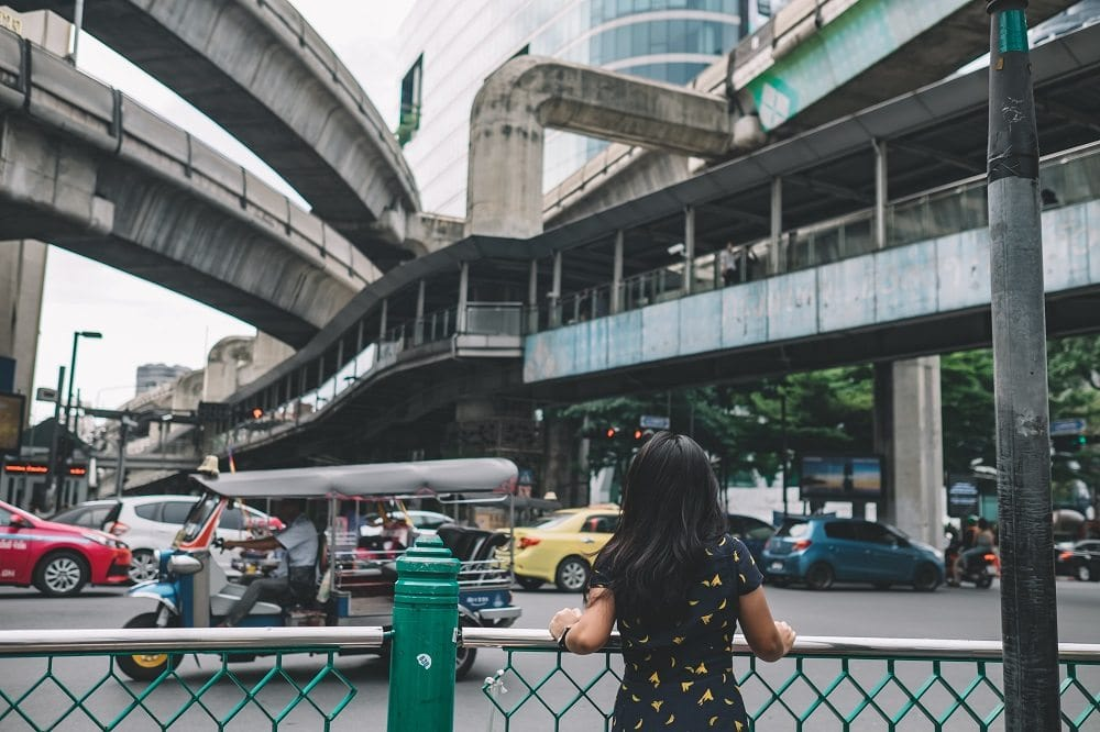 Bangkok's streets are mean and busy, but easy to navigate after a trip to a bike rental shop.