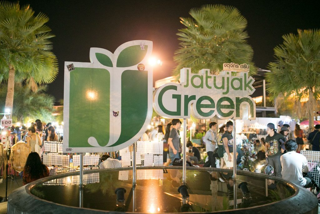 JJ Green is another section and name for the Chatuchak Market.