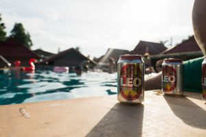 Leo Beer by Slumber Party Hostels Pool