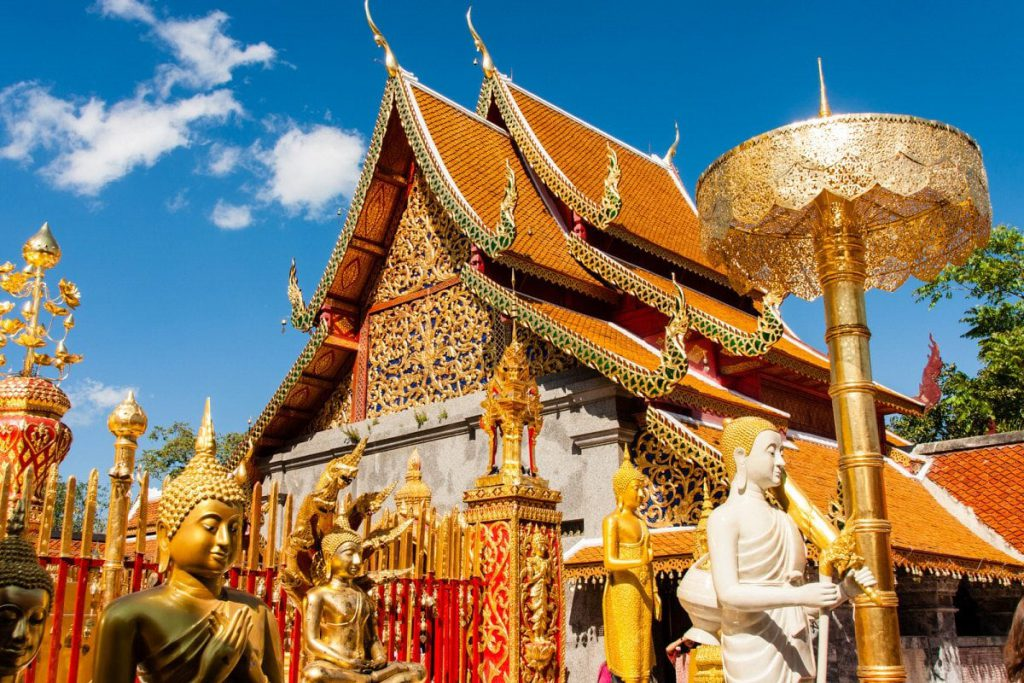 Doi Suthep is one of the most popular day trips from Chiang Mai.