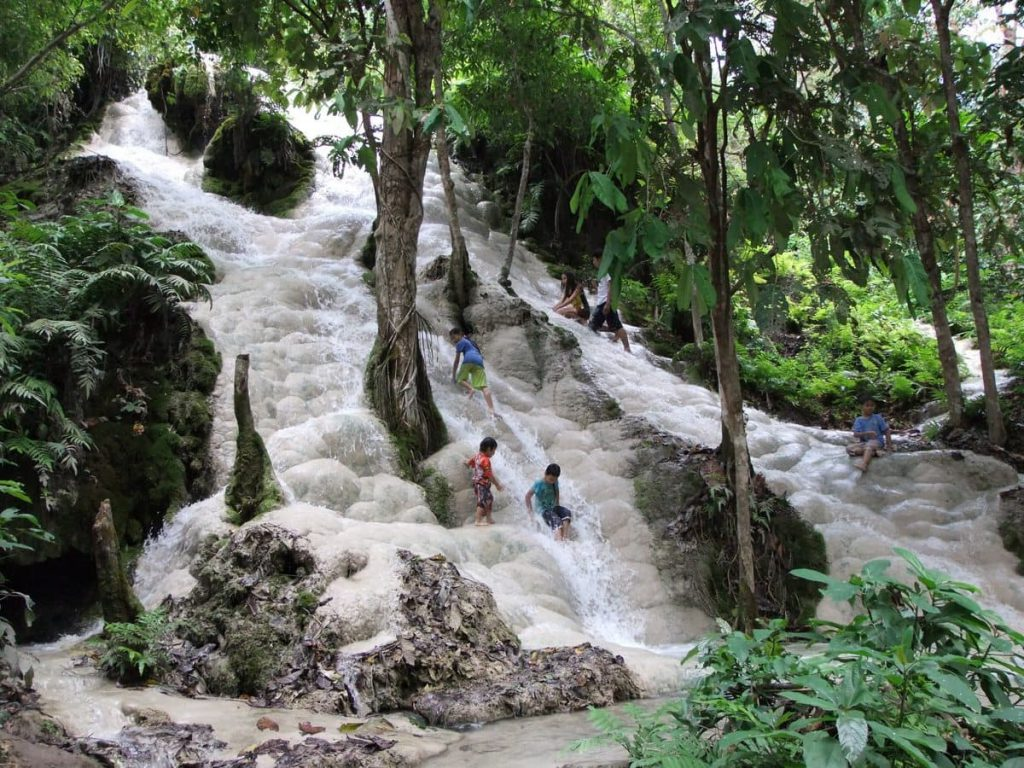 Waterfalls are on the agenda as one of the best day trips from Chiang Mai!