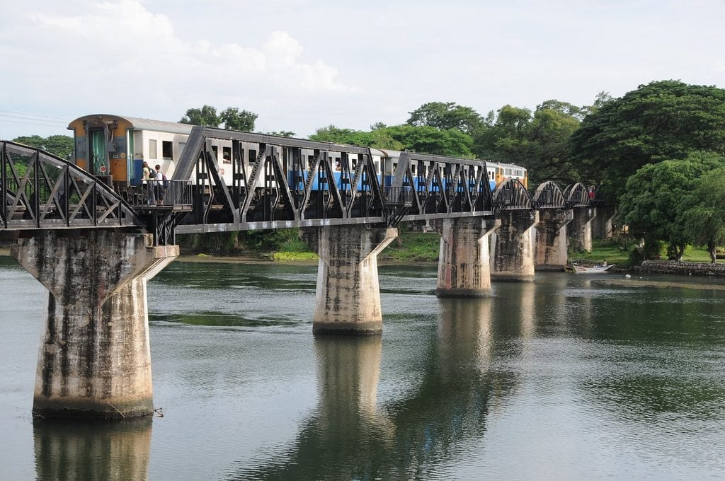 Take a day trip from Bangkok to see the Jeath Railway