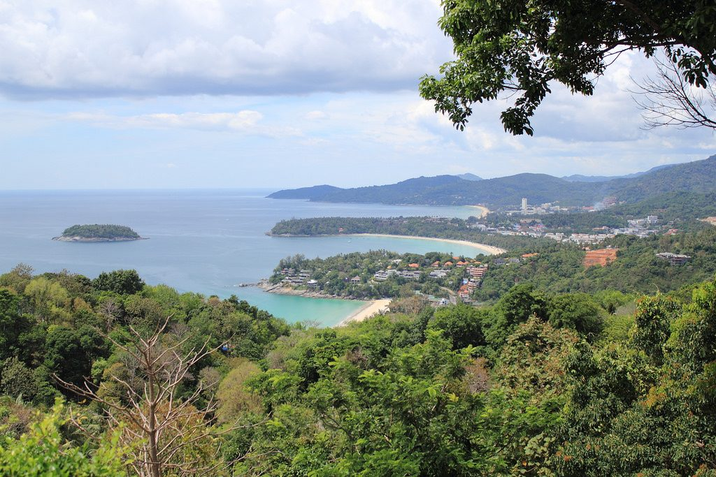 If you're looking for things to do in Phuket for free, drive a bike down to Karon Viewpoint.
