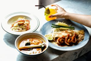 Thai dishes consist of 4 flavors, none of which should be skipped!