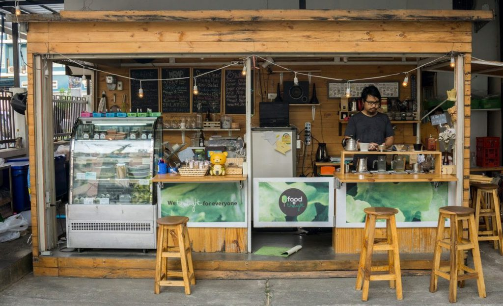 Food4Thought is one of the healthiest restaurants in Chiang Mai.