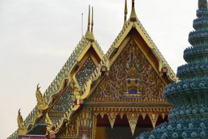 Wat Pho is home to the Reclining Buddha