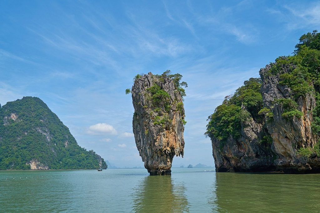 James Bond Island is the most famous day trip from Phuket, possibly in all of Thailand.