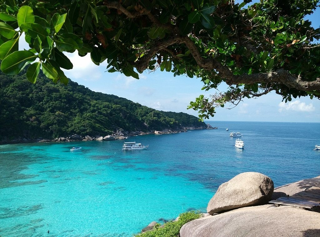 The Similan Islands are a very underrated day trip from Phuket.