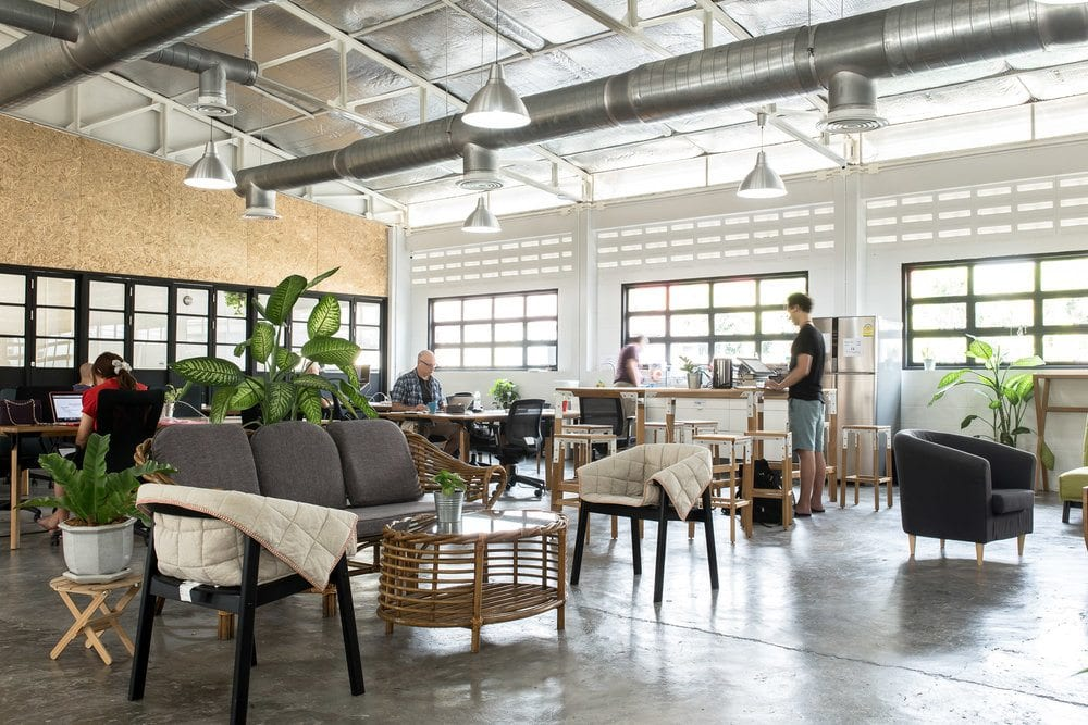 Mana takes the global trend of very large, open design, making it one of the coolest Chiang Mai coworking spaces for networking with digital nomads.