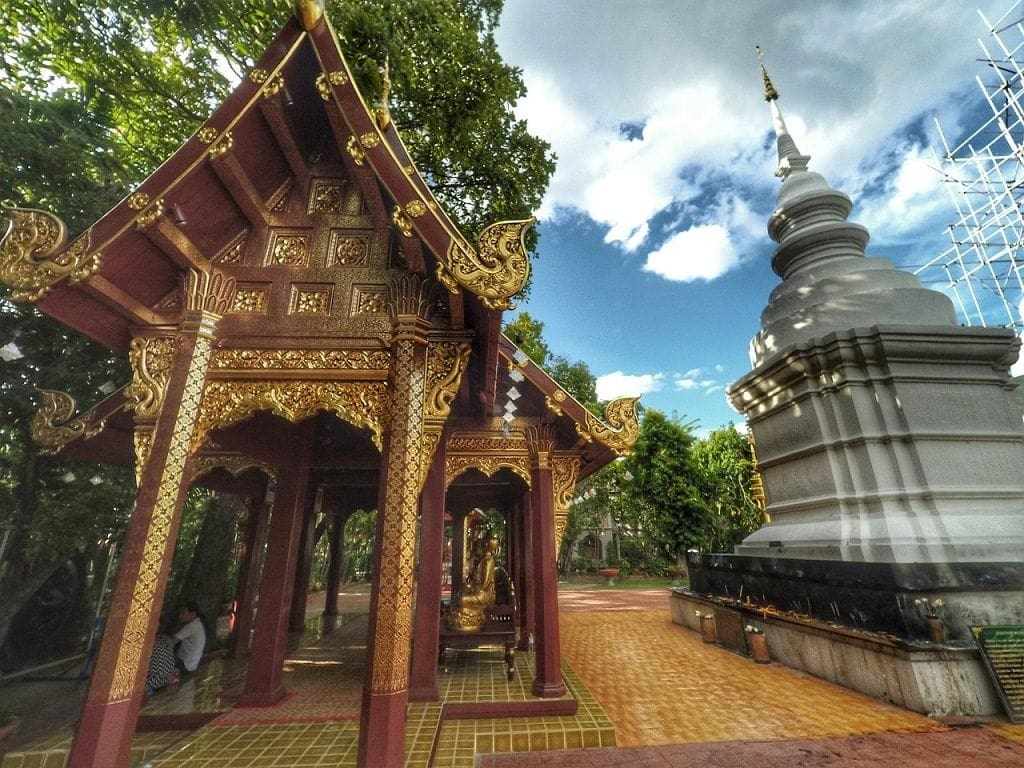 Wat Phra Singh is a great choice if you only have time to visit 1 temple in Chiang Mai.