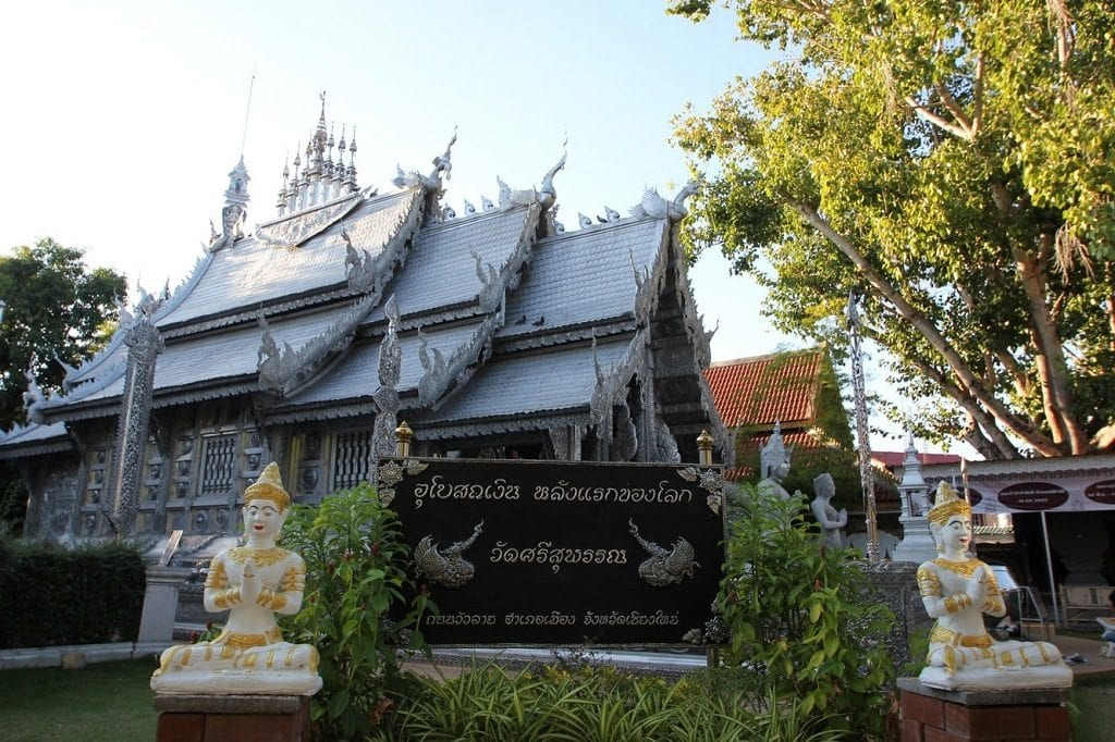 Wat Sri Suphan is one of the best Chiang Mai temples.