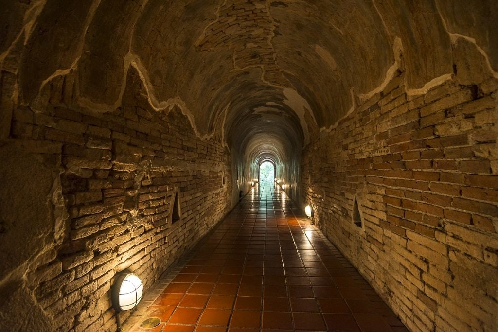 Wat Umong, the tunnel temple of Chiang Mai