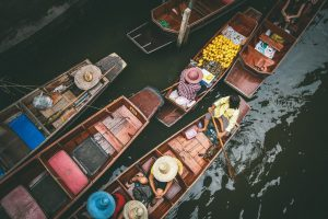 Damnoen Saduak Canal is home to Thailand's top floating market.