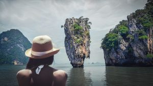 James Bond Island is one of the most famous islands in Asia.