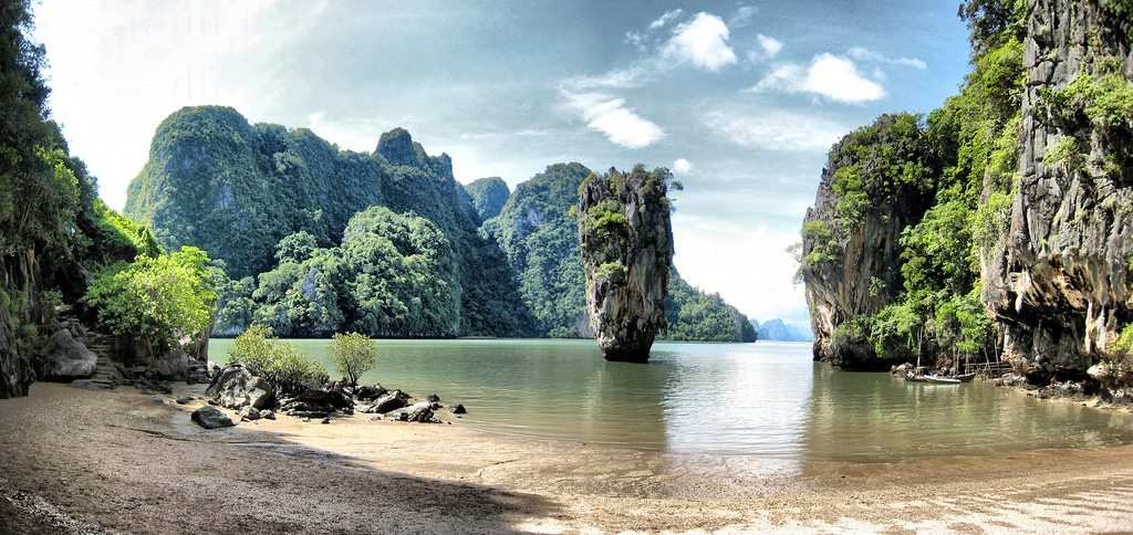 Take the day trip from Phuket to James Bond Island and you won't regret it.