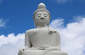 The Phuket Big Buddha gets its name from its immense scale.