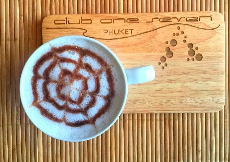 The best espresso on the island is at one of the best brunch restaurants in Phuket.