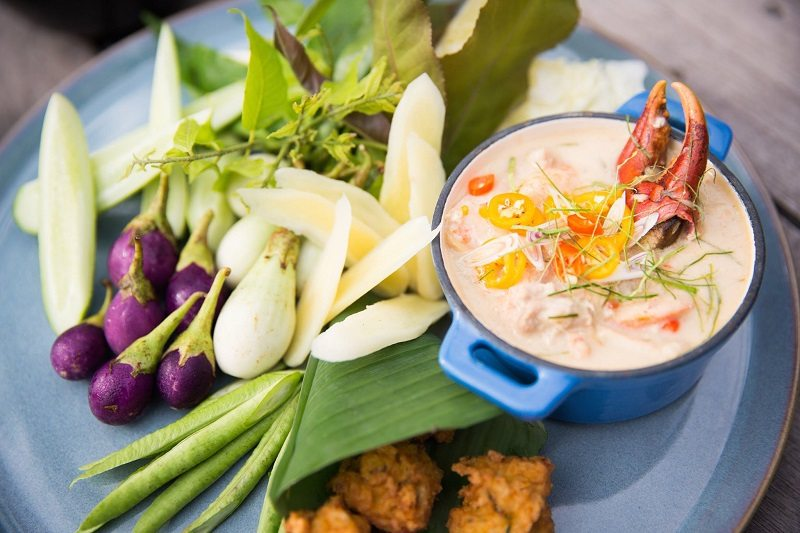 If you're a seafood lover, then the best brunch in Phuket is at Trisara.