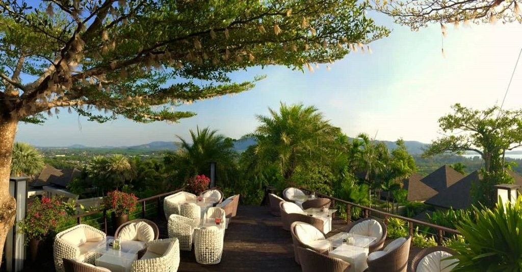 360 Degrees Bar is an excellent spot to watch the Phuket sunset, with its wide viewpoint.