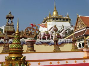 Wat Saket, the Golden Mount Temple in Bangkok