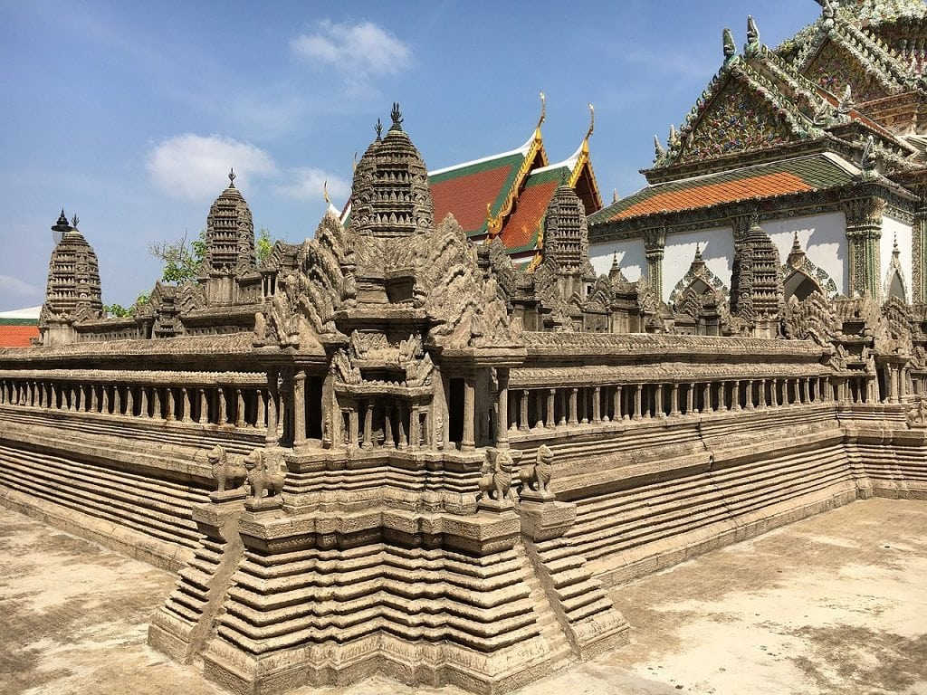 The architecture of the Grand Palace dates back almost a full century.