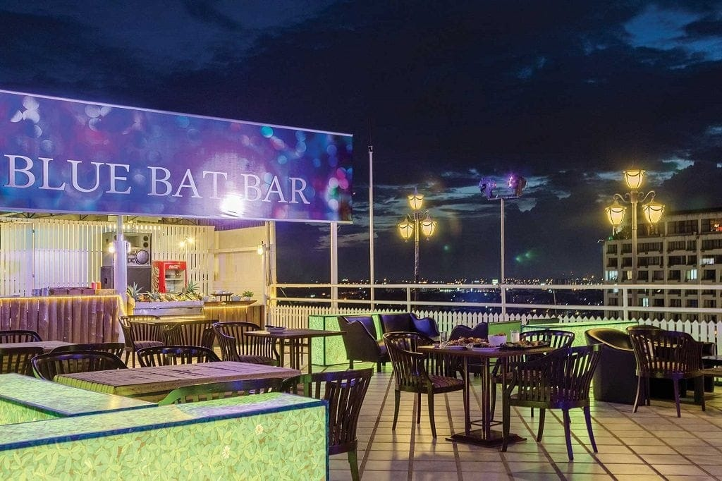 Blue Bat Is The Most Affordable Rooftop Bar In Chiang Mai Aimed At Backpackers And