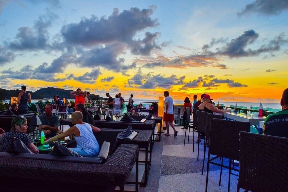The Kee Sky Lounge Rooftop Bar, Phuket