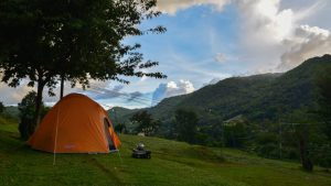 Camping in Doi Inthanon National Park, Chiang Mai
