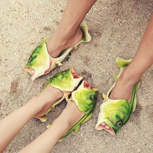 Staying on Trend: The Realistic Fish-Flop Thai Market Craze