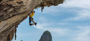 rock climbing in thailand railay beach