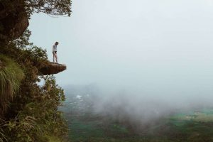 Dragon Crest trail ao nang hiking in thailand mountains