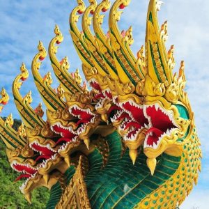 BUDDHA'S BOUNCERS: THAILAND'S MYTHICAL TEMPLE CREATURES