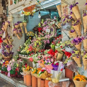 STOP AND SMELL THE ROSES: A VISIT TO BANGKOK'S FLOWER MARKET