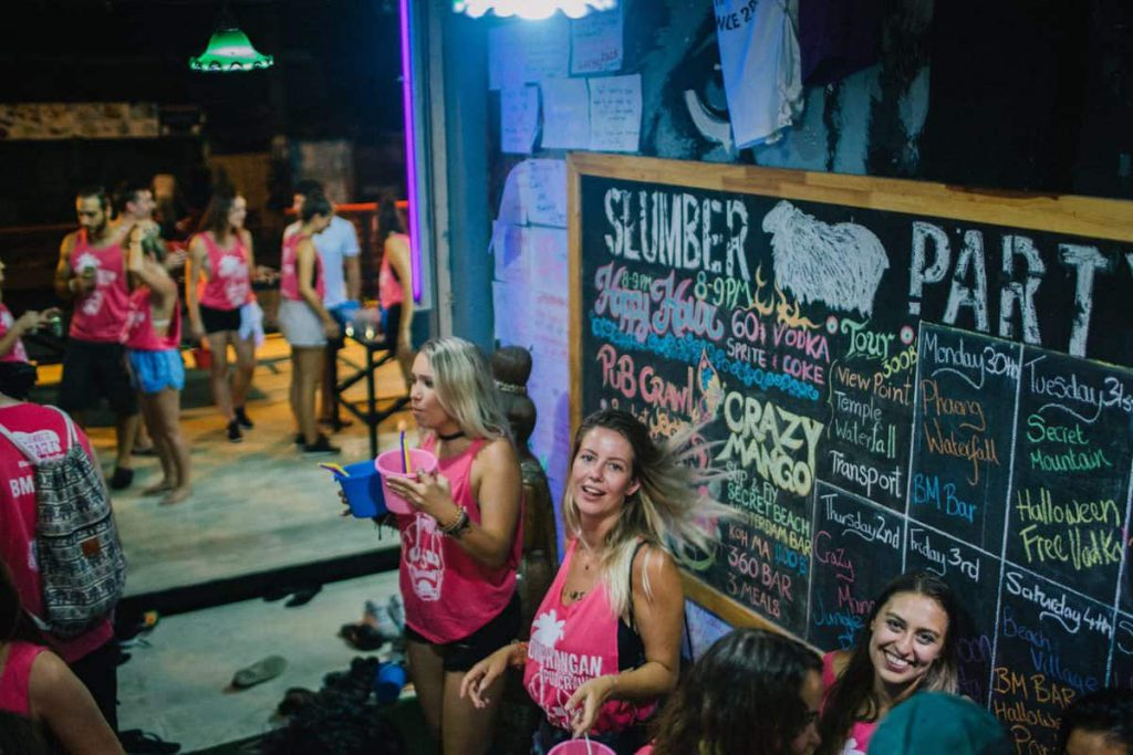 Koh Phangan Pub Crawl