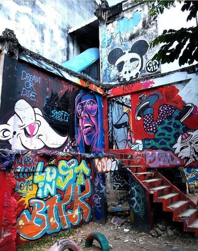 STREET ART IN BANGKOK: A GUIDE TO THE CITY'S COOLEST MURALS Chalermla Park